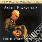 THE HISTORY OF TANGO/5CD cd musicale di Astor Piazzolla