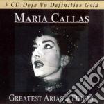 GREATEST ARIAS AND DUETS cd musicale di Maria Callas
