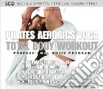 Total body workout - pilates, aerobics, cd musicale di Miscellanee