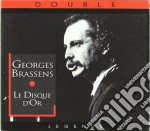 DISQUE D'OR cd musicale di Georges Brassens