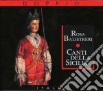 Canti della sicilia cd musicale di Rosa Balistreri