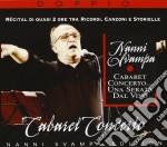 Cabaret concerto ... una serata dal vivo cd musicale di Nanni Svampa