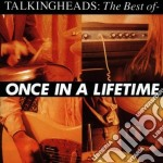 Talking Heads - Once In A Lifetime  The Best Of cd musicale di Heads Talking