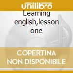 Learning english,lesson one cd musicale di Die toten hosen