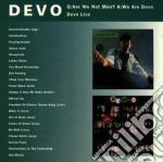 Devo - Q: Are We Not Men? A: We Are Devo / Devo Live cd musicale di DEVO