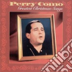 GREATEST CHRISTMAS SONGS cd musicale di Perry Como