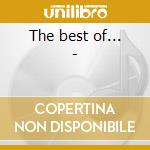 The best of... - cd musicale di Chantels The