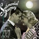 Sentimental journey vol.4 cd musicale di Artisti Vari