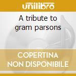 A tribute to gram parsons cd musicale di Steve wynn & uncle t