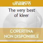 The very best of kleer cd musicale
