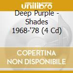 SHADES 1968-1998 (4cdSet) cd musicale di DEEP PURPLE