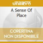 A SENSE OF PLACE cd musicale di TINGSTAD ERIC