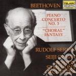 Serkin Rudolf / Boston Symphony Orchestra / Ozawa Seiji - Beethoven: Concerto Per Piano N. 3  Fantasia