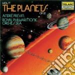 PIANETI PREVIN(O)-ROYAL PHILHARMONIC cd musicale di HOLST
