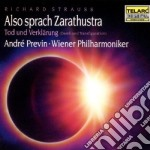 Wiener Philharmoniker / Previn Andre - Wiener Philharmoniker / Previn Andre-strauss: Also Sprach Zarathustra  Tod Und Verklarung cd musicale di Richard Strauss