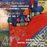 Piano conc.op.30/symph. n.3 d cd musicale di Tchaikovsky/rimsky-k