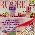 Concerto di aranjuez cd musicale di Rodrigo
