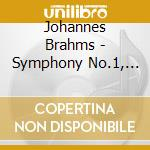 Symphony n.1 cd musicale di Johannes Brahms