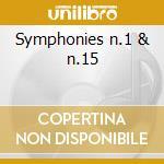 Symphonies n.1 & n.15 cd musicale di Shostakovich