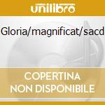 Gloria/magnificat/sacd cd musicale di Vivaldi/bach