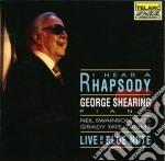 I hear a rhapsody - live at the blue not cd musicale di George Shearing