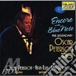 Oscar Peterson - Encore At The Blue Note cd musicale di Oscar Peterson