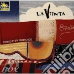 Forgotten romance - cd musicale di Vienta La