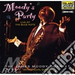 James Moody Quartet - Moody's Party - Live At The Blue Note cd musicale di Moody james quartet