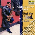 I could write a book cd musicale di George Coleman