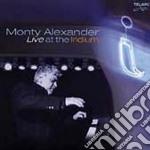 Monty Alexander - Live At The Iridium cd musicale di Monty Alexander