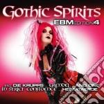 Gothic spirits ebm vol.4 cd musicale di Artisti Vari