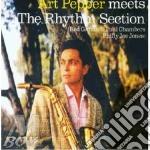 MEETS THE RHYTHM SECTION cd musicale di ART PEPPER