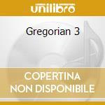 Gregorian 3 cd musicale di Artisti Vari