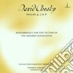 David Chesky - Psalms 4 5 & 6 cd musicale di David Chesky