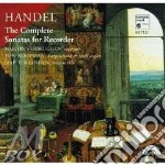 Sonate per recorder (integrale) cd musicale di HANDEL GEORG FRIEDRI