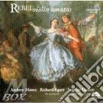 Sonate per violino cd musicale di Jean-fÉry Rebel