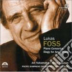 Lukas Foss - Concerto Per Pianoforte N.1, N.2, Elegyfor Anne Frank cd musicale di Lukas Foss