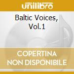 Baltic voices 1 cd musicale