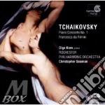 Tchaikovsky - Concerto Per Pianoforte N.1 Op.23, Francesca Da Rimini Op.32 - Olga Kern cd musicale di CIAIKOVSKI PYOTR IL'