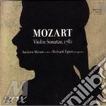 Mozart Wolfgang Amadeus - Sonata Per Violino K 376, 377, 380, Frammento K 403 cd musicale di Wolfgang Amadeus Mozart