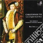 Tye Christopher - Musica Sacra Su Testi Inglesi E Latini cd musicale di Christopher Tye