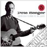 Pete Seeger - American Favorite Ballads -  5 Cd Box Set cd musicale di Pete Seeger