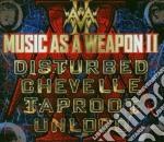 MUSIC AS A WEAPON II/CD+DVD cd musicale di DISTURBED