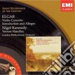 Elgar - Violin Concerto cd musicale di Vernon Handley