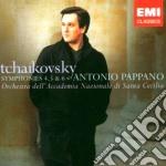 SINFONIE NOS.4 - 6                        cd musicale di CIAIKOVSKY