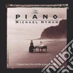 THE PIANO  (LEZIONI DI PIANO) cd musicale di Michael Nyman