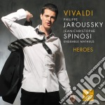 Vivaldi - Heroes - Philippe Jaroussky cd musicale di Philippe Jaroussky