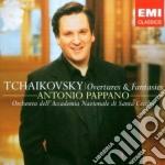 Tchaikovsky - Overtures & Fantasies - Antonio Pappano  cd musicale di TCHAIKOVSKY