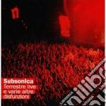 TERRESTRE-LIVE/2CD cd musicale di SUBSONICA