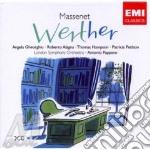 WERTHER (OPERA COMPLETA)                  cd musicale di Antonio Pappano